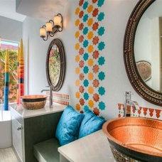 Eclectic Bathroom by An Interior Motive Designs LLC