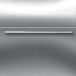 "Sub-Zero 24"" Refrigerator Drawers Stainless Steel 