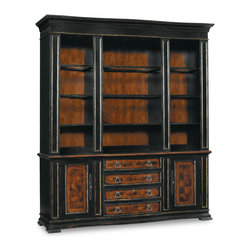 Hooker Furniture - Hooker Furniture Grandover Bookcase Base 5029-10265 - Grandover is a high-drama European traditional collection updated for today with a modern outlook and functional details. Includes Hooker Furniture Grandover Bookcase Base 5029-10265 only.