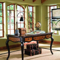 Hooker Furniture - Hooker Furniture North Hampton Writing Desk 779-10-458 - Includes North Hampton Writing Desk 779-10-458 only.