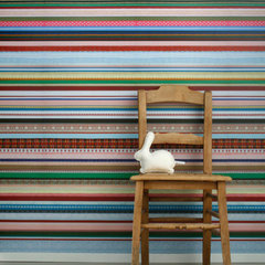 eclectic wallpaper by Studio Ditte