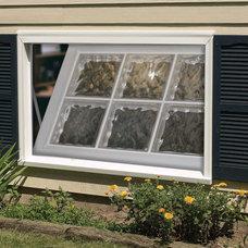 Contemporary Windows by Hy-Lite, a U.S. Block Windows Company