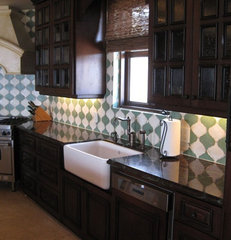 kitchen tile by Architectural Surfaces &amp; Design