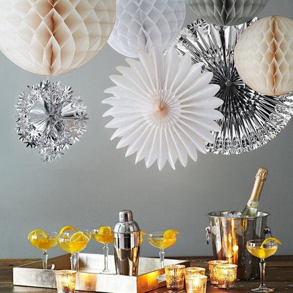 Contemporary Holiday Decorations by West Elm
