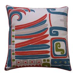 Jiti - Jiti Kaleidoscope Cotton Pillow - Features: