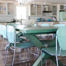 Beach Style Dining Room by The Blue Moon Trading Company