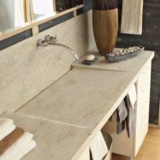Contemporary Bathroom Countertops by Dolan & Traynor, Inc.