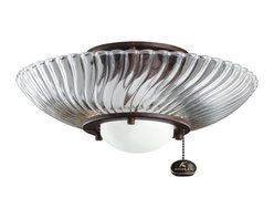 Kichler Lighting - Kichler Lighting Decor Swirl Ceiling Fan Light Kit X-ZT311083 - Kichler Lighting Decor Swirl Ceiling Fan Light Kit X-ZT311083