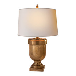 Medium Chunky Urn Table Lamp