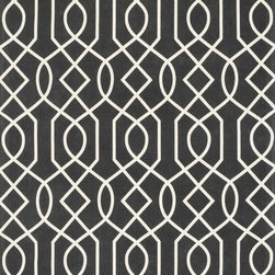 """Loloi Rugs - Loloi Rugs Felix Collection - Charcoal / Ivory, 5'-0"""" x 7'-6"""" - With bold patterns and fun color options, Felix is an ideal collection for any modern interior. These simple, geometricdesigns are printed in India onto an all-cotton surface, creating a look that's casual but still eye-catching."""