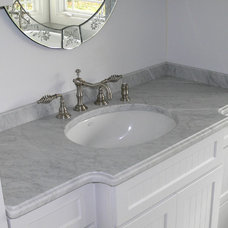 Traditional Bathroom by Stone Art Design, Inc.