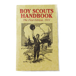 Boy Scouts Handbook - The original Boy Scouts Handbook would make fun coffee table reading this summer. I'd set it out along with a stack of fun vintage magazines, like Sunset.