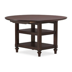 "Shayne Kitchen Table, 49 x 26"", Mahogany stain"