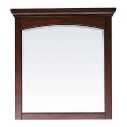 Avanity Vermont Mahogany Bathroom Mirror 36 x 2.5 x 38 - Manufacturer