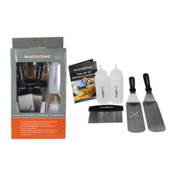 Blackstone - Blackstone Tool Kit - The Blackstone Tool Kit is a life saver because it comes with all the tools needed to get you using your new griddle as soon as possible.