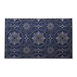 A1 Home Collections - A1 Home Collections LIMITED EDITION 100% Natural Rubber Artistic Doormat - This stylish doormat makes a perfect addition to any porch,patio area or door. Use this mat to catch dirt or as decoration.