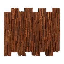 Simple and Inspiring Wood Teak Wall Panel - Description: