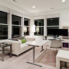 Contemporary Home Office by Vidabelo Interior Design