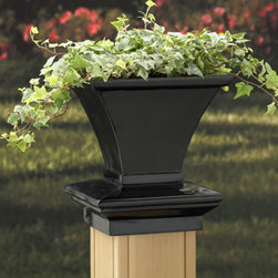 Deck Expressions Products - deck or post planter post cap