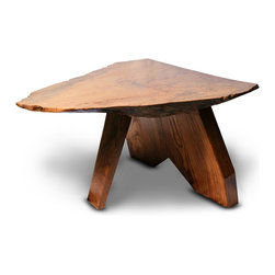 Freeform Signed Tree Table - 21-5 h x 34-5 w x 38 d