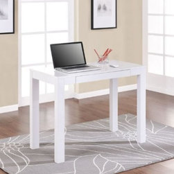 Altra 9178096 Parsons Desk, White - If you have a small space, this is an awesome piece with great clean, modern lines.