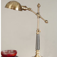 traditional table lamps by Build