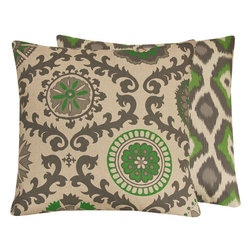 Zen Garden Throw Pillow Collection l Chloe & Olive - Chloe & Olive
