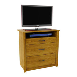Ameriwood - Ameriwood Media Dresser in Bank Alder - Ameriwood - Chests - 5514301PCOM