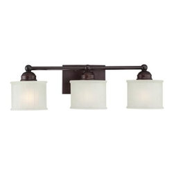 Minka Lavery - Minka Lavery ML 6733 3 Light Bathroom Vanity Light from the 1730 Series Collecti - Three Light Bathroom Vanity Light from the 1730 Series CollectionFeatures: