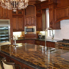Eclectic Kitchen Countertops by Artisan Group Stone and Wood Countertops