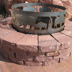 traditional firepits by Jasper Stone Company