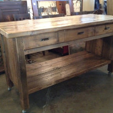 Eclectic Kitchen Islands And Kitchen Carts by Silver Fox Salvage Los Angeles