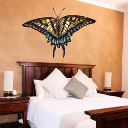 Butterfly Vinyl Wall Decal ButterflyUScolor003; 23 in. - Vinyl Wall Decals are an awesome way to bring a room to life!