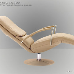 Lounge Seats by Cineak Luxury Seating - THE FIORA The Fiora is a relaxation lounge seat with a synchronized relaxation mechanism which