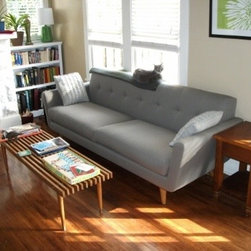 Nixon Sofa - Thrive Furniture - Nixon Sofa in Expectation Grey