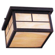 Bathroom Lighting And Vanity Lighting Craftsman Outdoor Flushmount by Maxim Lighting