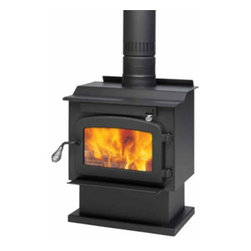 Drolet - Wood Stove On Pedestal Model Pyropak - Wood Stove On Pedestal Model Pyropak