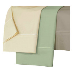 Dreamfit - Dreamfit Bamboo Sheets, Pale Sage, Twin Xl - Sheet set includes an extra-large top sheet, a patented self-tailoring fitted sheet, and two pillowcases. A wonderful blend of silky softness and health benefits, Bamboo-Rich fibers wick away moisture from the body and are naturally bacteria and allergen resistant.