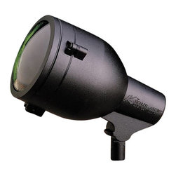 Kichler - Kichler HID High Intensity Discharge Outdoor Spotlight in Textured Black - Shown in picture: Accent 1-Lt 120V in Textured Black