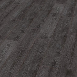 HDM Flooring - Elesgo Pott oak Laminate Wood Flooring - High-tech sound reduction. The honey-comb structure on the reverse side of the plank changes the acoustics enormously.Sound waves bounce off the opposite walls of the structure, are broken down and sound is absorbed. At the same time, the pitch of the sound is reduced into a comfortable low frequency.