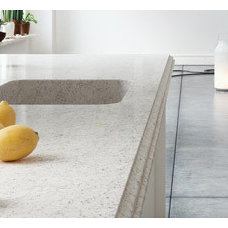 Kitchen Countertops Silestone Nebula with Integrated Quartz Sink