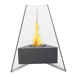 Anywhere Fireplace - Manhattan Bio Fuel Fireplace - Dimensions: 11.5 x 11 x 10.5 inches