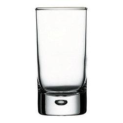Hospitality Glass - 3.75H x 1.75T x 1.75B Centra 3.25 oz Whiskey Shot Glasses 24 Ct - Centra 3.25 oz Whiskey