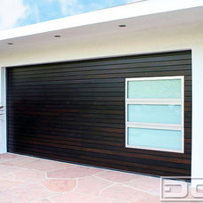Contemporary Garage Doors And Openers Contemporary Garage Doors