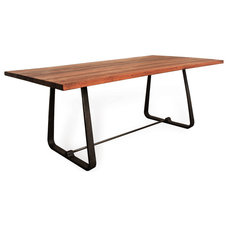 Industrial Dining Tables by Kathy Kuo Home