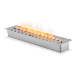 EcoSmart Fire - XL900 Bioethanol Burner - Elongating a naked flame may seem straightforward, but it's quite complex when you consider the way stainless steel contracts and expands at various temperatures.