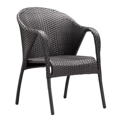 Zuo Modern Montezuma Weave Arm Chair