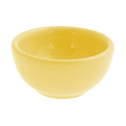 Nut Bowl, Yellow - A bright yellow pastel bowl isn't just for the kitchen — use it in the bathroom to hold hair pins or by your bed to keep earrings safe.