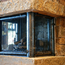 Contemporary Fireplaces by Reimer & Co. Blacksmiths