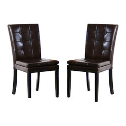 Barrington Leather Dining Chair, Set of 2